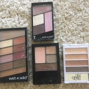 ELF/WnW/Maybeline Eyeshadow Bundle